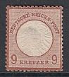 Deutsches Reich Mi.-Nr. 27 b * Mgl