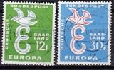 CEPT Saarland 1958 oo