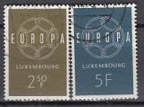 CEPT Luxemburg 1959 oo
