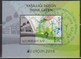 CEPT - Aserbaidschan Block 2016 oo