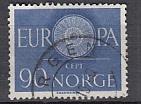 CEPT Norwegen 1960 oo