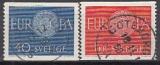CEPT Schweden 1960 oo