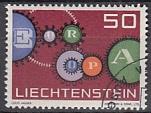 CEPT Liechtenstein 1961 oo