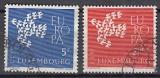 CEPT Luxemburg 1961 oo