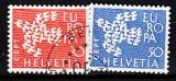 CEPT Schweiz 1961 oo