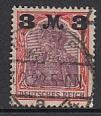 Deutsches Reich Mi.-Nr. 155 I a gepr.