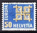 CEPT Schweiz 1963 oo