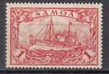 Dt. Kol. Samoa Mi.-Nr. 16 *