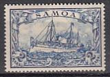 Dt. Kol. Samoa Mi.-Nr. 17 *