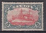 Dt. Kol. Samoa Mi.-Nr. 23 II B *