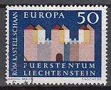 CEPT Liechtenstein 1964 oo