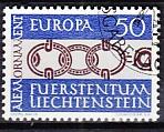 CEPT Liechtenstein 1965 oo
