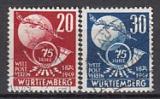 Württ - Mi.-Nr. 51/52 oo