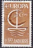 CEPT Andorra frz. 1966 oo