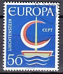 CEPT Liechtenstein 1966 oo