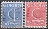 CEPT Schweiz 1966 oo