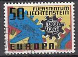 CEPT Liechtenstein 1967 oo