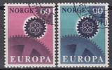 CEPT Norwegen 1967 oo