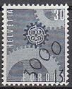 CEPT Schweiz 1967 oo