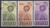 CEPT Zypern 1967 oo