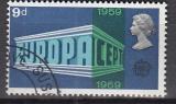 CEPT Grossbritannien 1969 oo