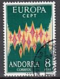 CEPT Andorra sp. 1972 oo