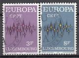 CEPT Luxemburg 1972 oo