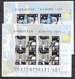 CEPT - Gibraltar Kleinbogen 1993 **