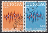 CEPT San Marino 1972 oo