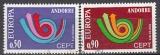CEPT Andorra frz. 1973 oo