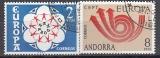 CEPT Andorra sp. 1973 oo