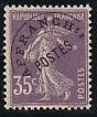 Frankreich-Mi.-Nr. 121 II x Vc **