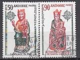 CEPT Andorra frz. 1974 oo