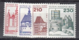 Berlin Mi.-Nr. 587/90 **