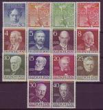 Berlin Jahrgang 1952 postfrisch