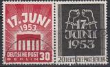 Berlin Mi.-Nr. 110/11 oo