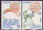 CEPT - Andorra sp. 1986 **
