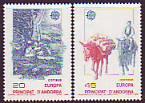 CEPT - Andorra sp. 1988 **