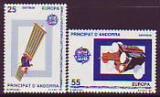 CEPT - Andorra sp. 1991 **