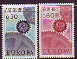 CEPT - Andorra frz. 1967 **