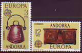 CEPT - Andorra sp. 1976 **