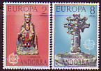 CEPT - Andorra sp. 1974 **