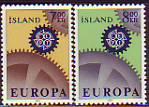 CEPT - Island 1967 **