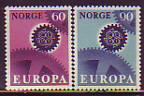 CEPT - Norwegen 1967 **
