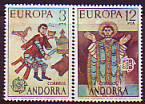 CEPT - Andorra sp. 1975 **