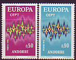 CEPT - Andorra frz. 1972 **
