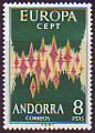 CEPT - Andorra sp. 1972 **