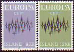 CEPT - Island 1972 **