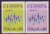 CEPT - Italien 1972 **