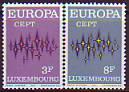 CEPT - Luxemburg 1972 **